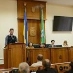 Андрій Кучуран у обласній раді