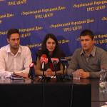 Прес-конференція руху Чесно в  Чернівцях, 2014