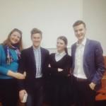 Команда проекту після тренінгу для журналістів ОДТРК