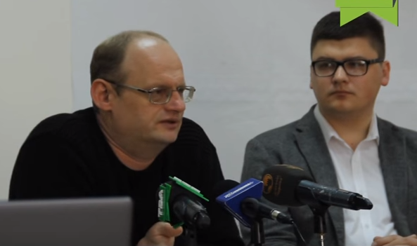 Андрій Марусов, ТІ-Україна, на прес-клубі Лабораторії демократичних трансформацій