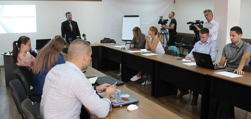 Ілля Несходовський, РПР, на прес-клубі Лабораторії демократичних трансформацій