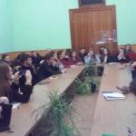 Юрій Ганущак, один з ініціаторів реформи децентралізації, спілкується зі студентами факультету історії політології та міжнародних відносин про перспективи та виклики у реалізації процесу децентралізації